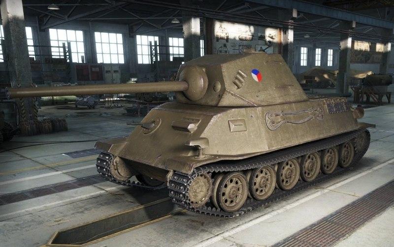 Skoda T-25 в World of Tanks