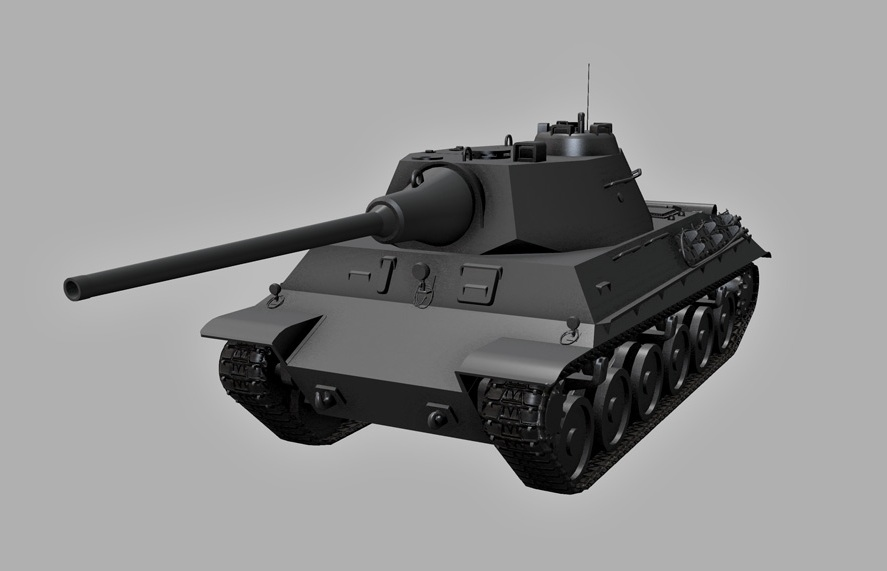 Танк Skoda t-40 в World of Tanks