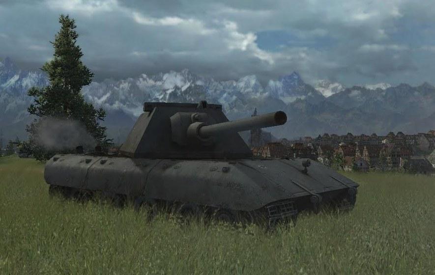 Танк E-100 в игре