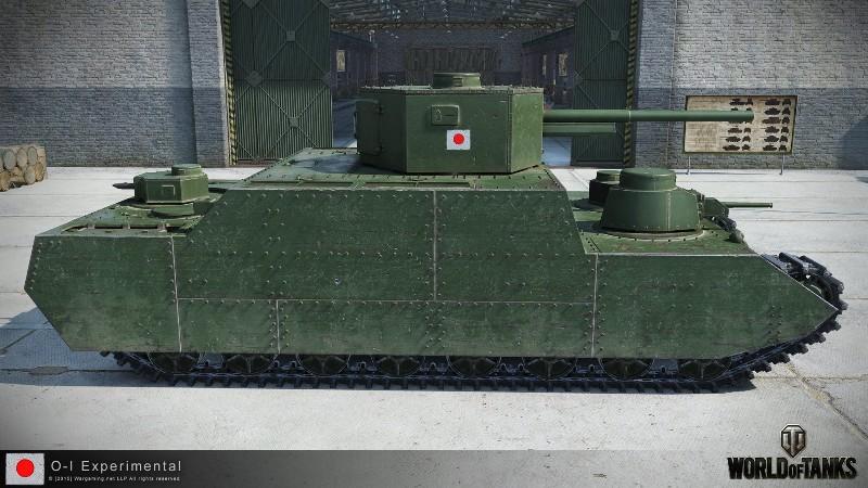 ТТ o-i в World of Tanks