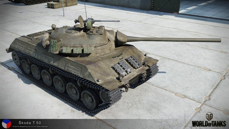 Танк Skoda T-50 в WoT
