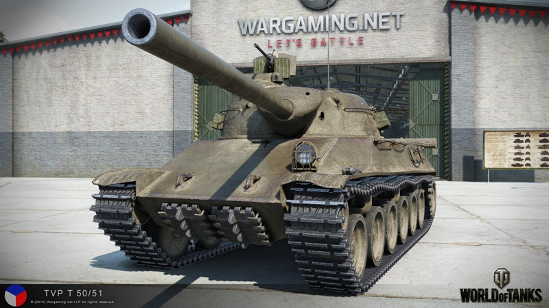 TVP T-50/51 в World of Tanks