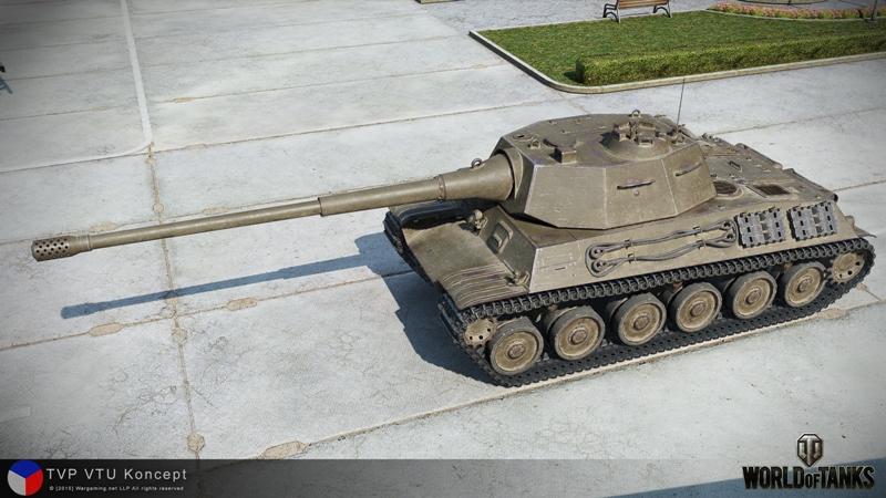 Танк TVP VTU в World of Tanks
