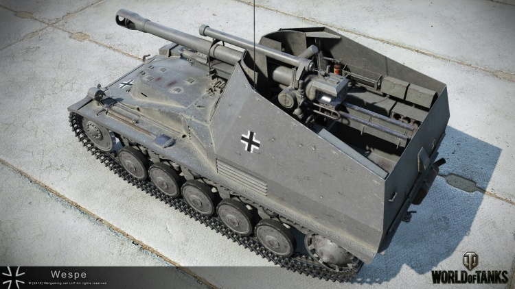 Wespe в World of Tanks