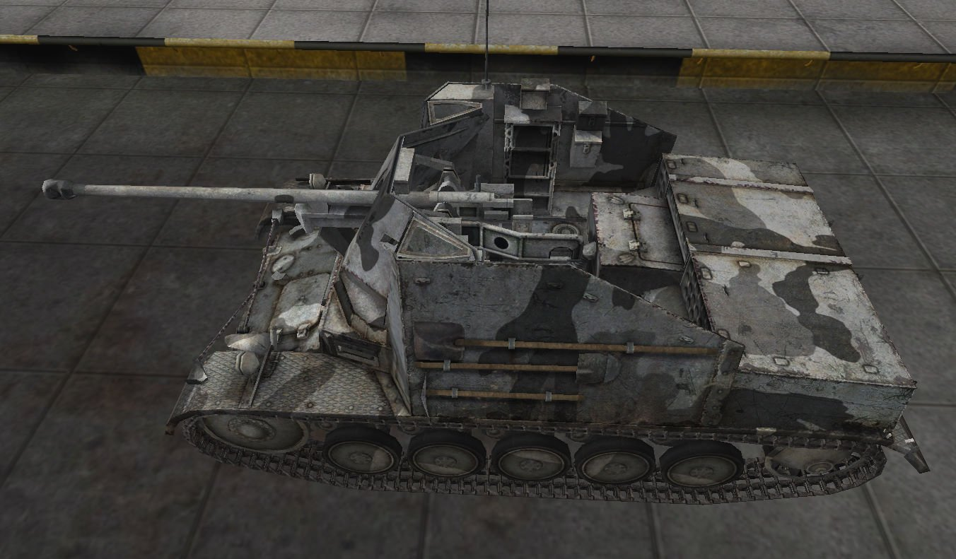 Marder II в игре