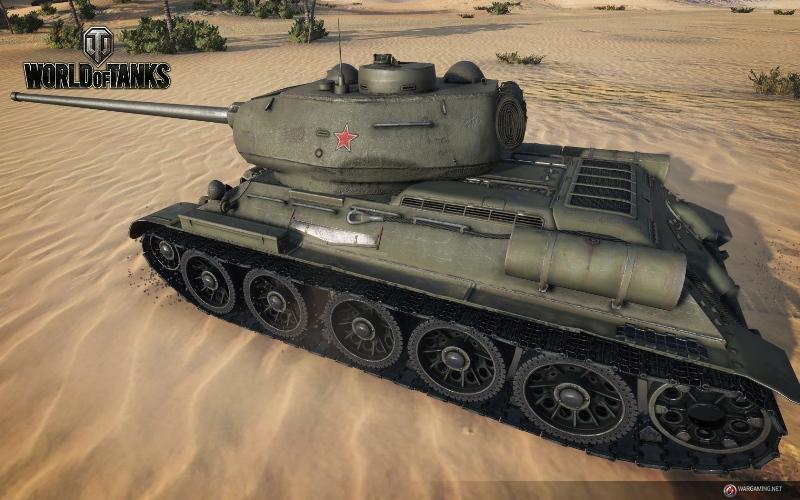 T-34-85 в игре