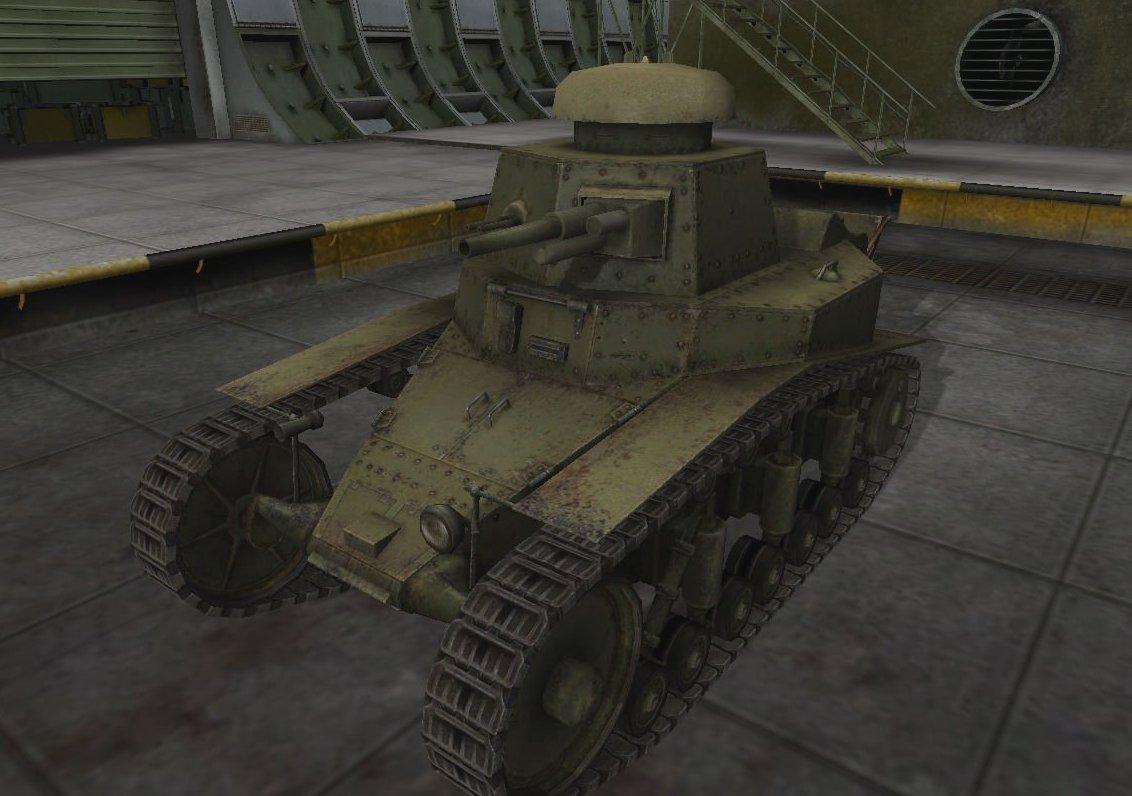 Танк МС1 в WoT