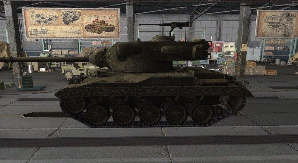 Танк T-37 в игре