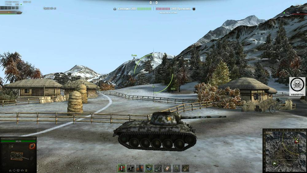 Американский танк t67