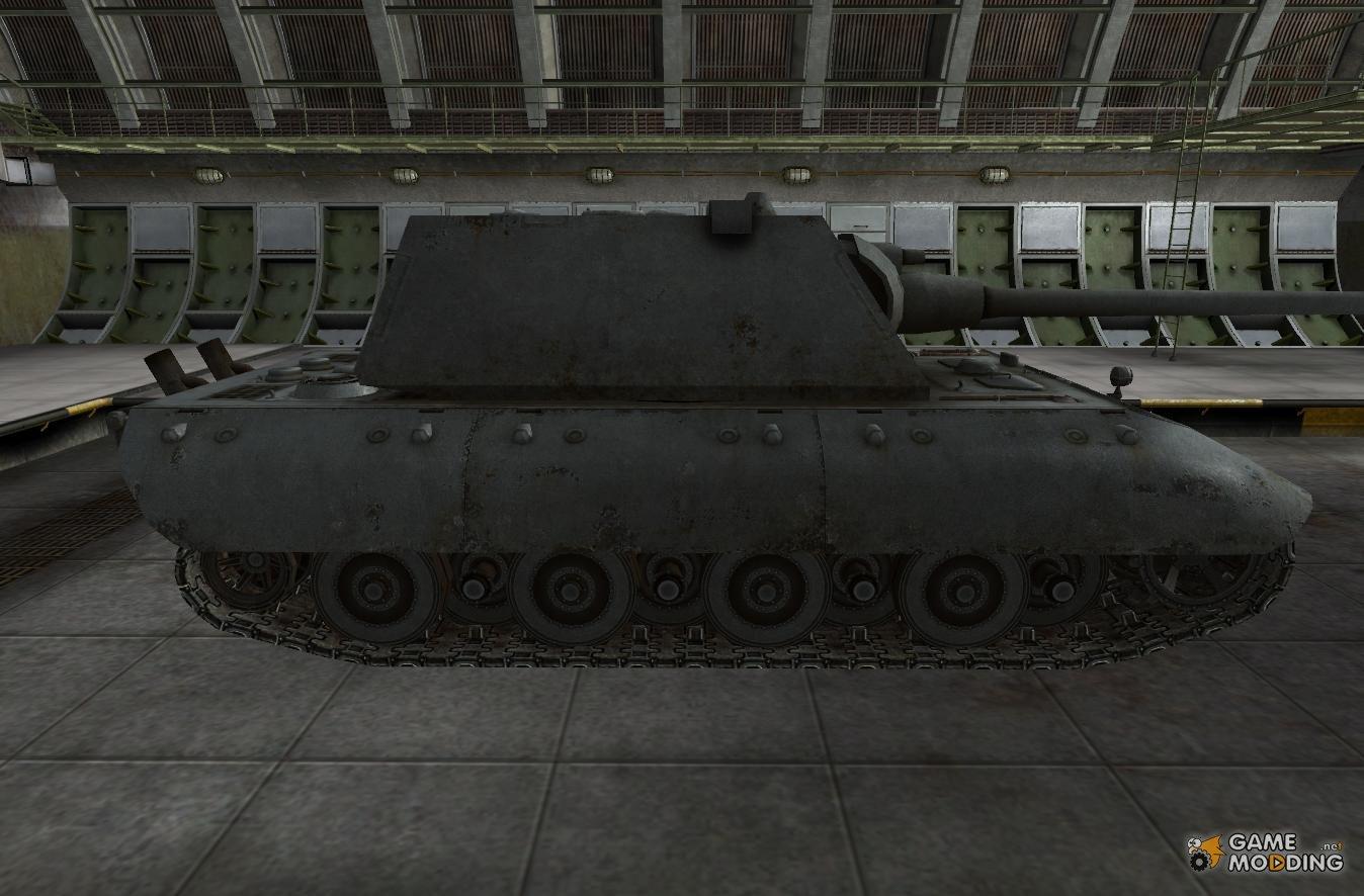 Танк E-100 в WoT