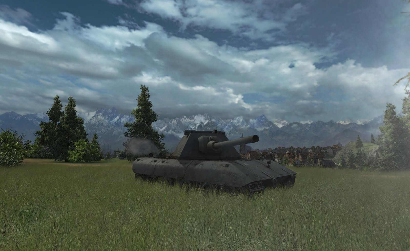 e100 в World of Tanks