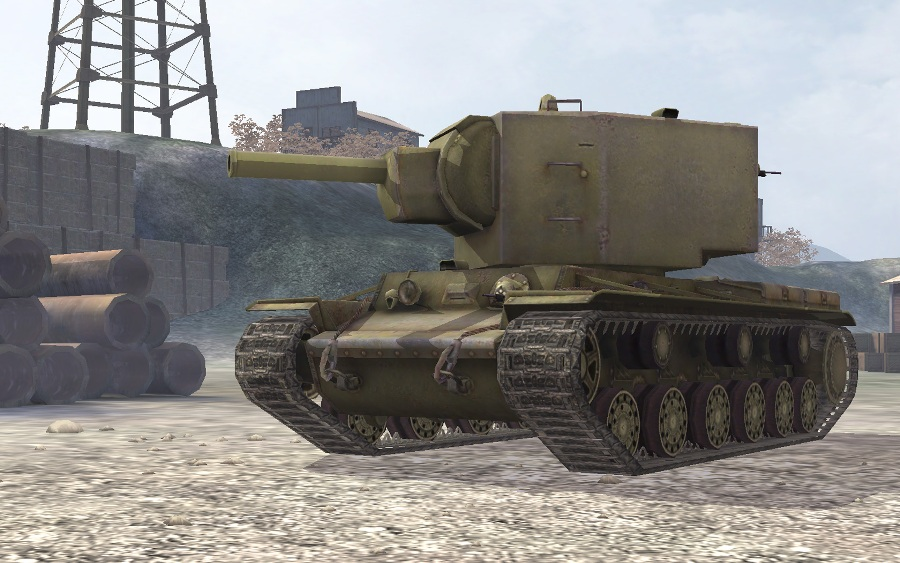 КВ-2 в World of Tanks