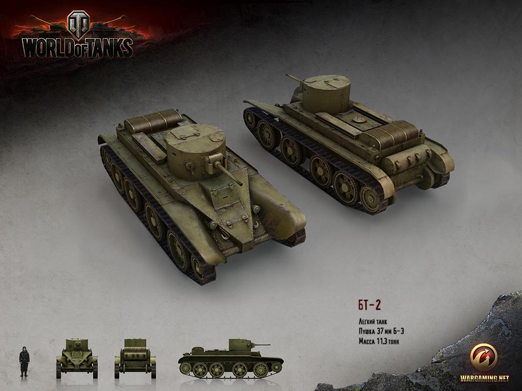 Танк БТ-2 в WoT