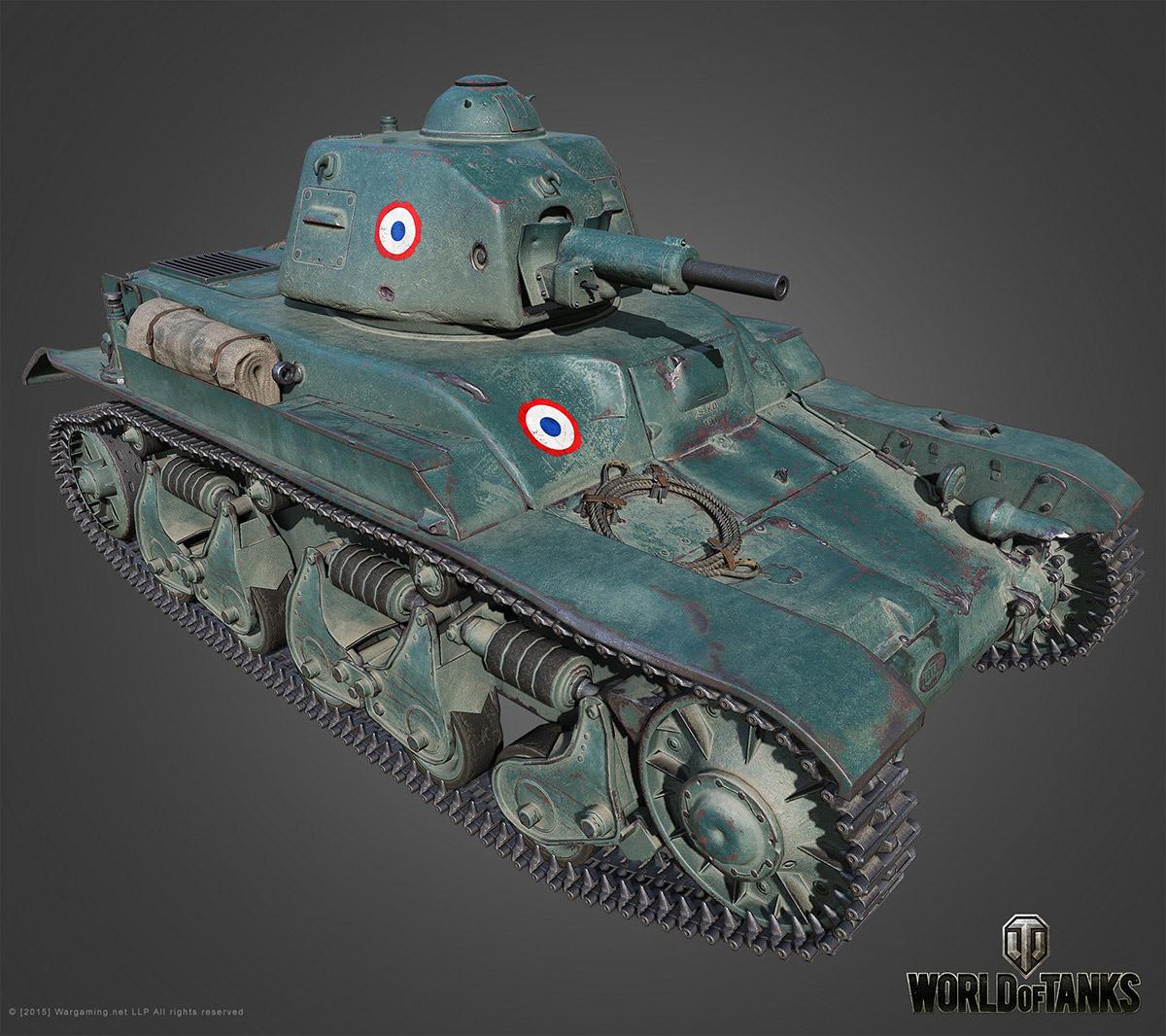 Техника 2 уровня в World of Tanks