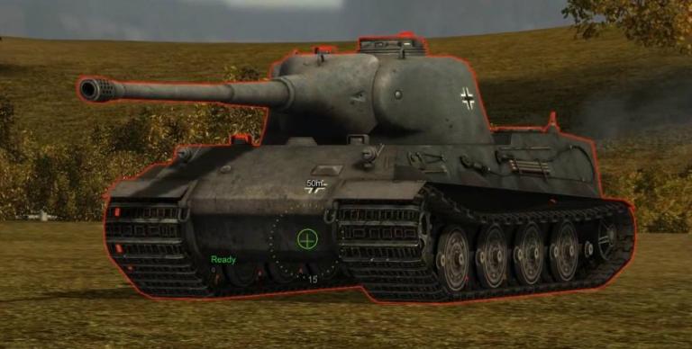 Тяжелый танк Lowe в игре
