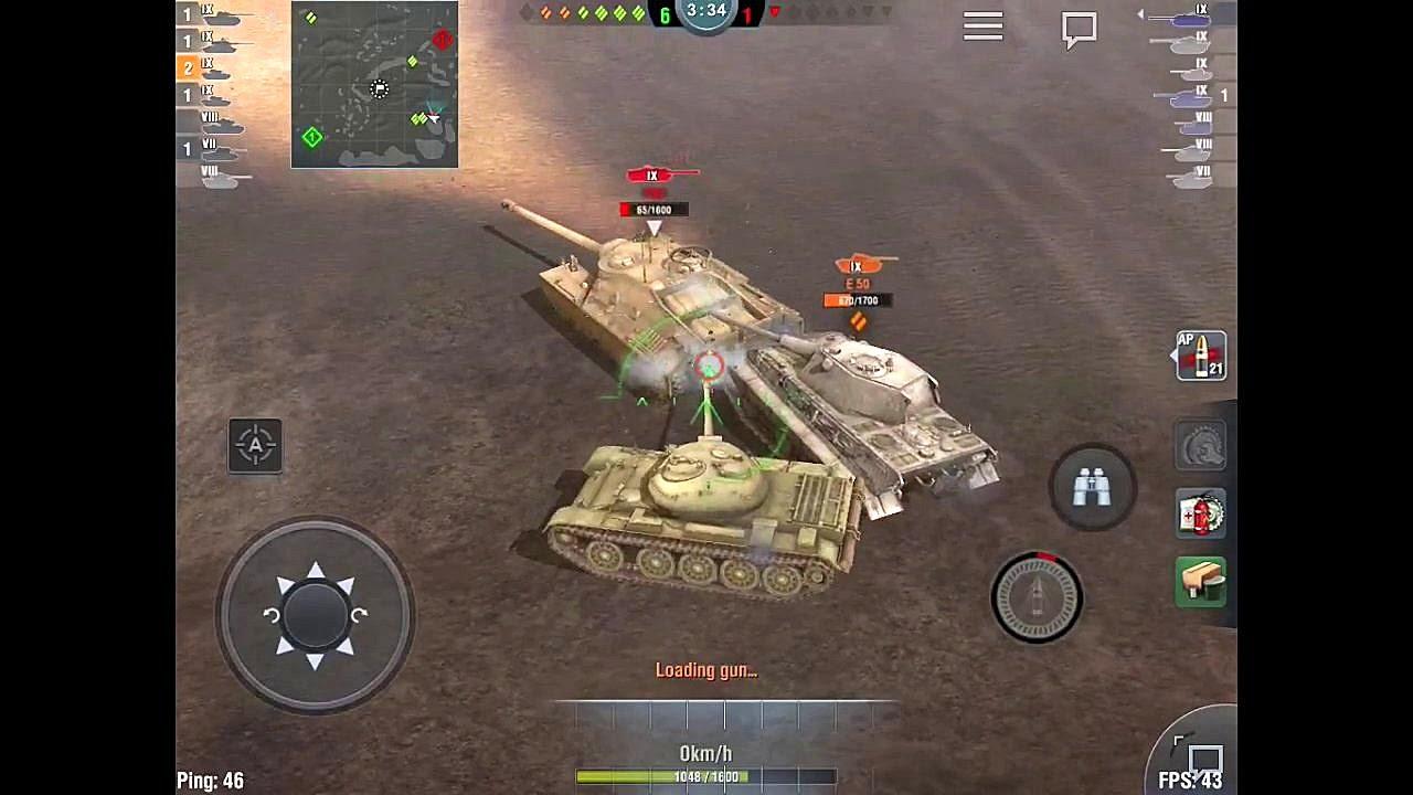 T-54 в Wot Blitz