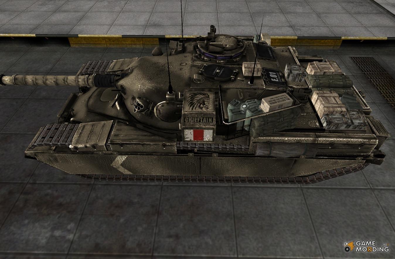 Танк FV4202 в игре