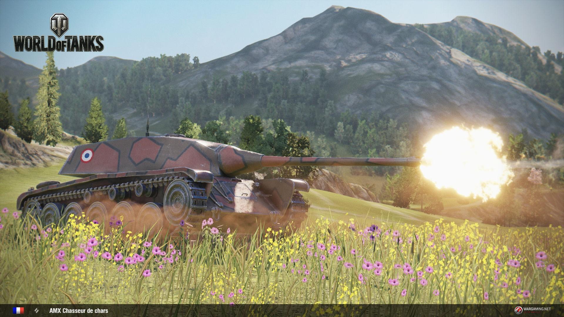 Французская техника AMX chasseur de char