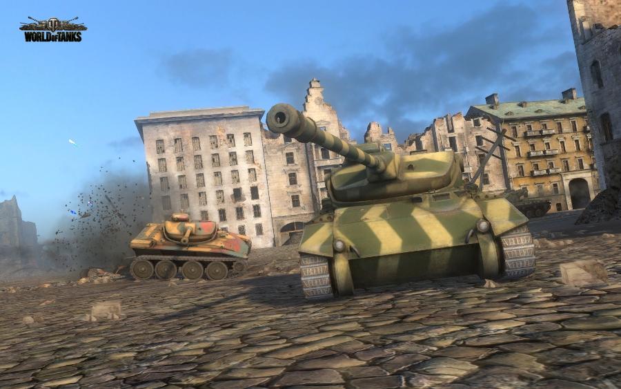 T71 в бою