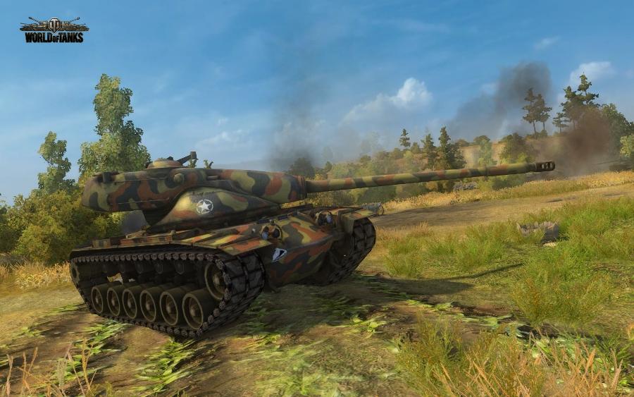 Обзор Т54Е1 в World of Tanks