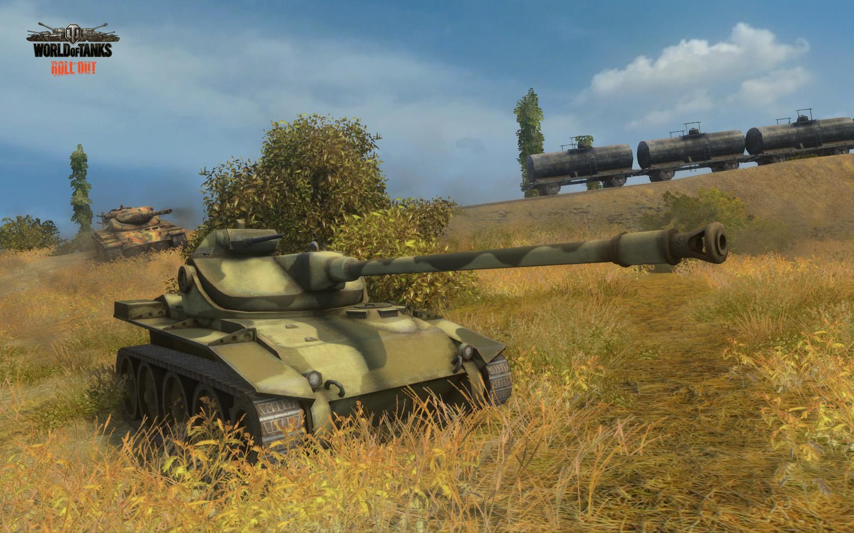 Танк T71 в World of Tanks
