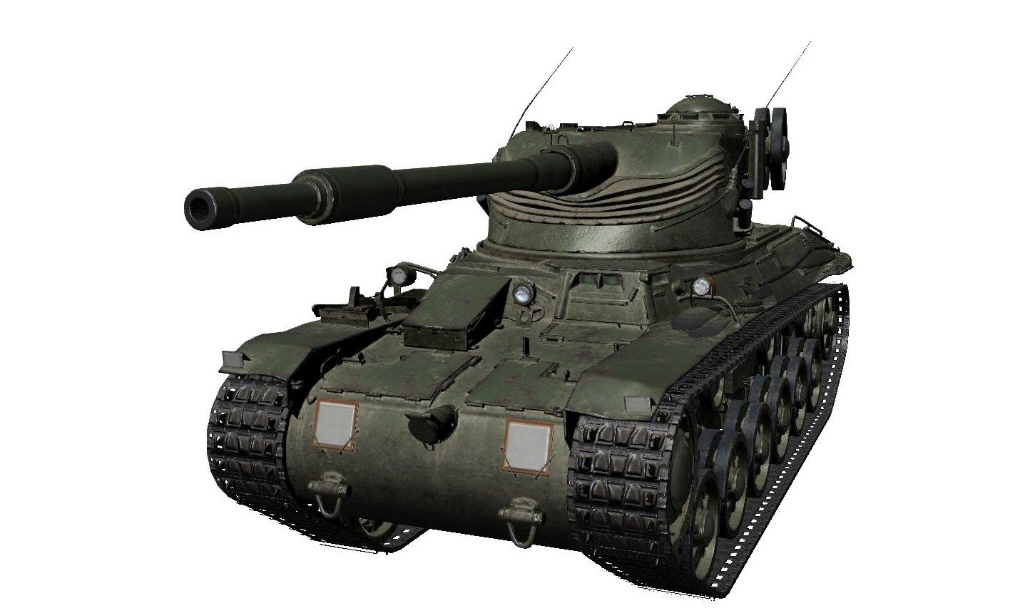 Особенности танка Strv m/42-57 Alt A.2