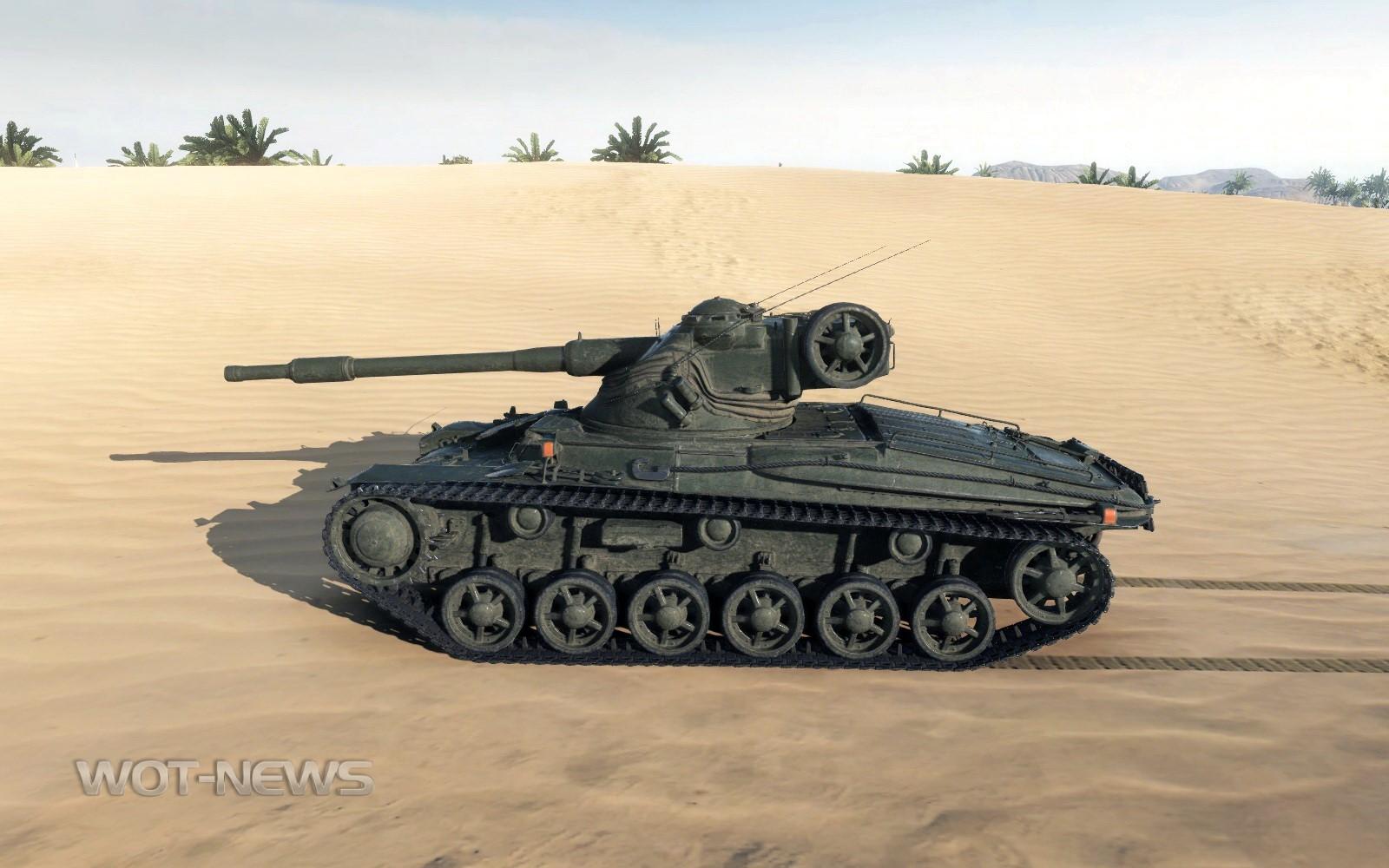 Шведский танк Strv m/42-57 Alt A.2
