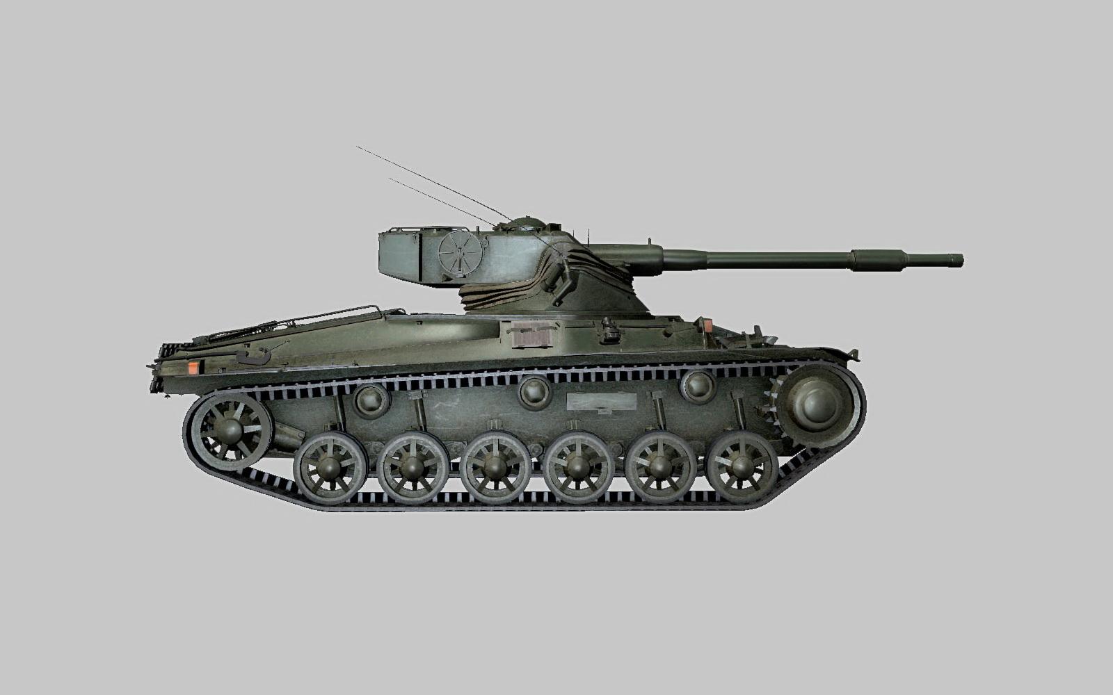 Шведский новичок - танк Strv m/42-57 Alt A.2