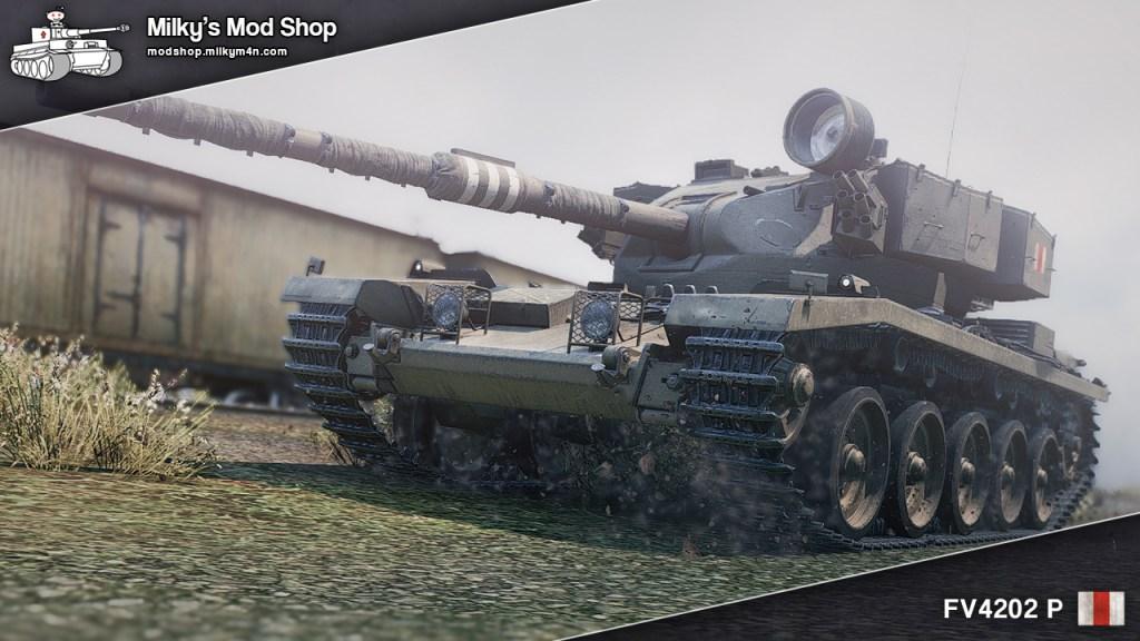 Обзор британского танка FV 4202(P)