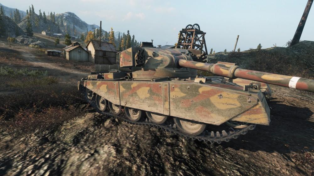 Танк FV4202(P) в World of Tanks