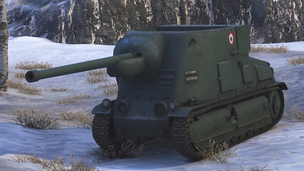 Обзор танка S35 CA