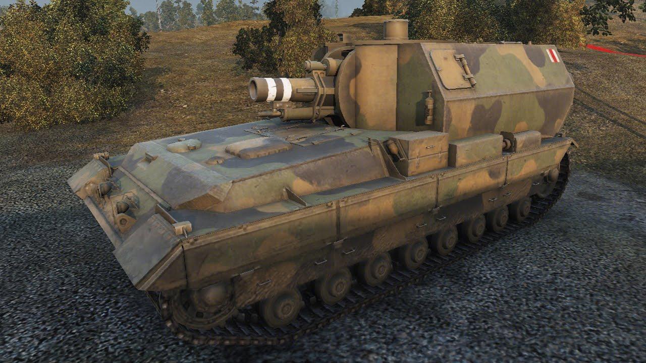 САУ Conqueror Gun Carriage в World of Tanks