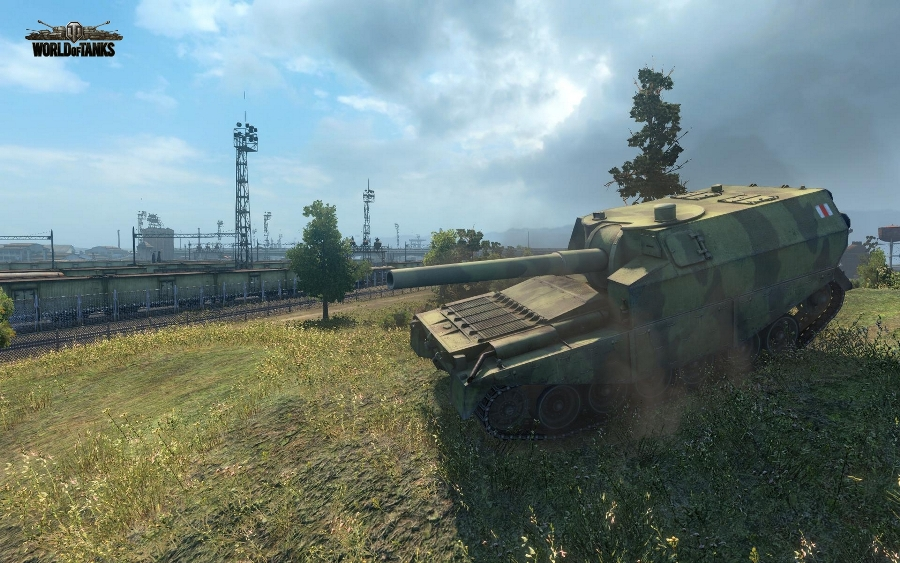 Обзор артиллерии FV3805