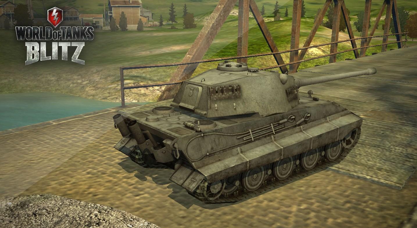 E-75 в World of Tanks Blitz