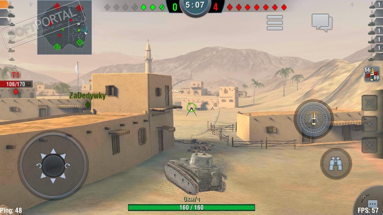 Сражения в WoT Blitz