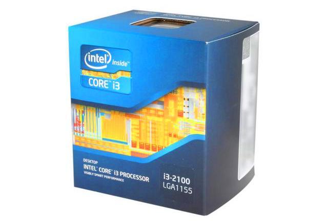 Процессор Intel Core i3 2100