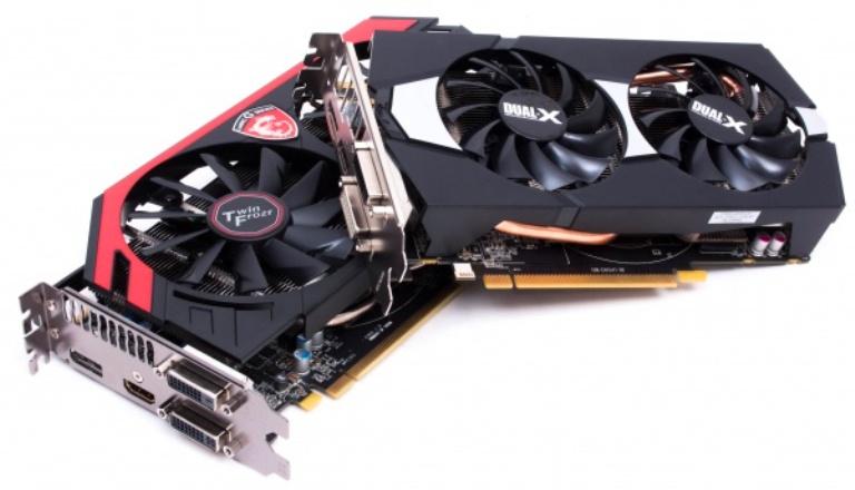 Видеокарты Radeon R9 270