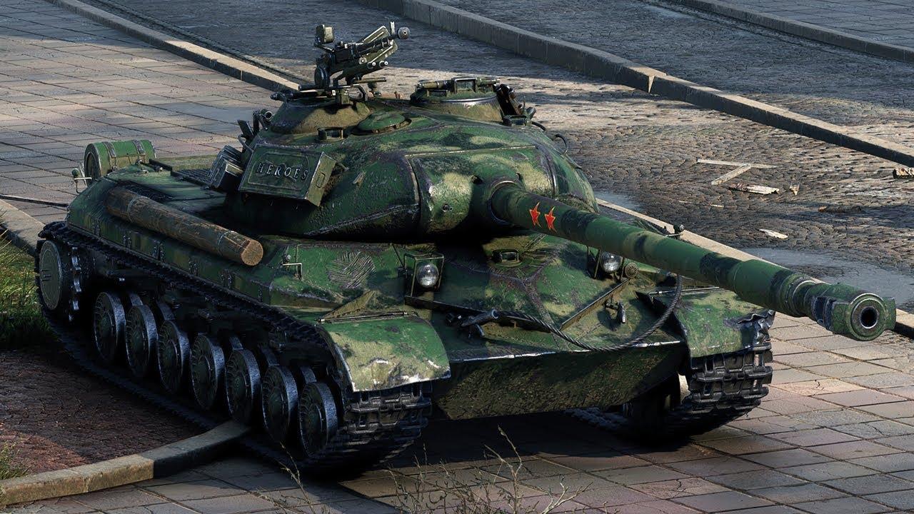 Танк WZ 111 model 5A