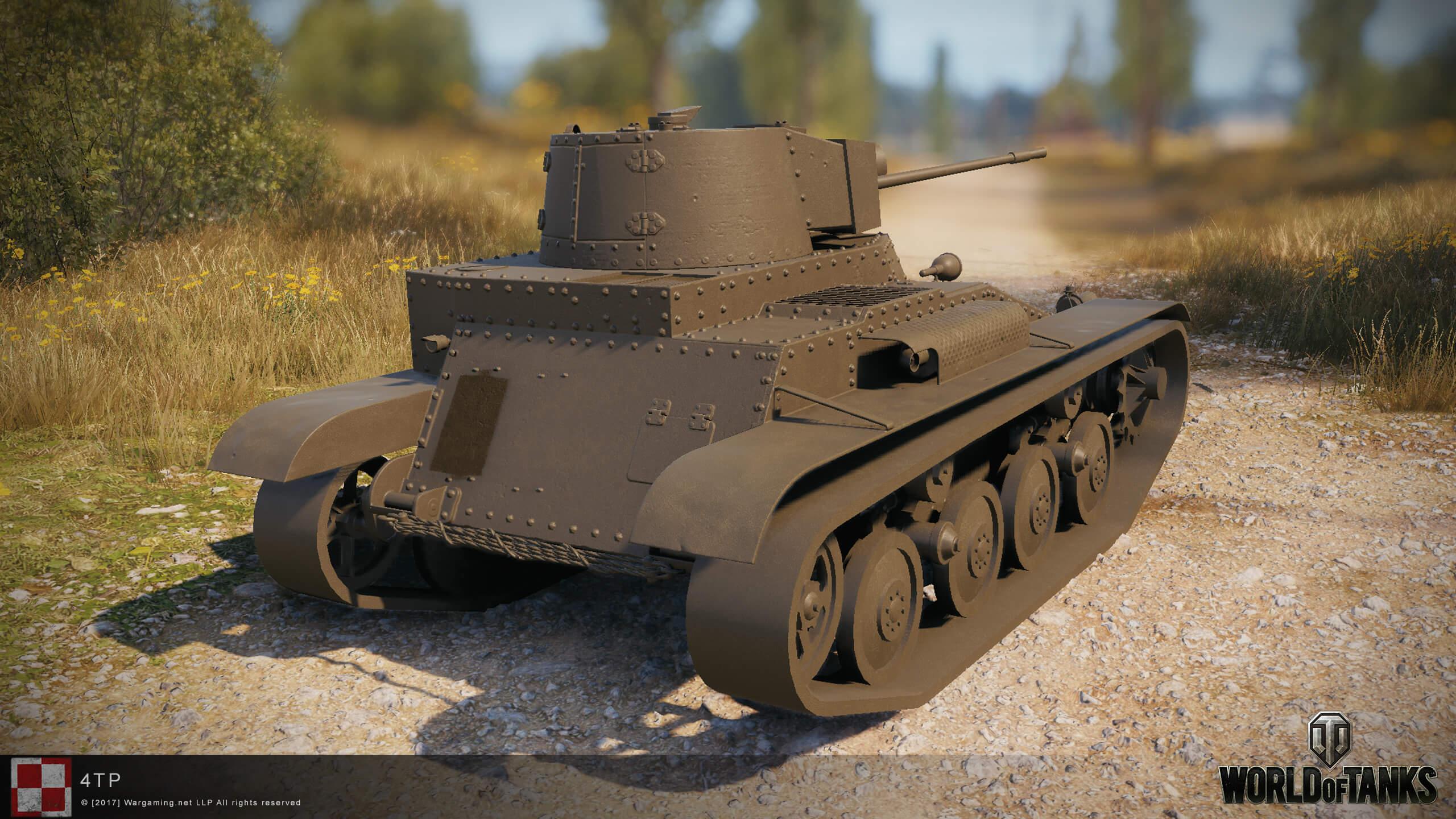 Польский танк 4TP