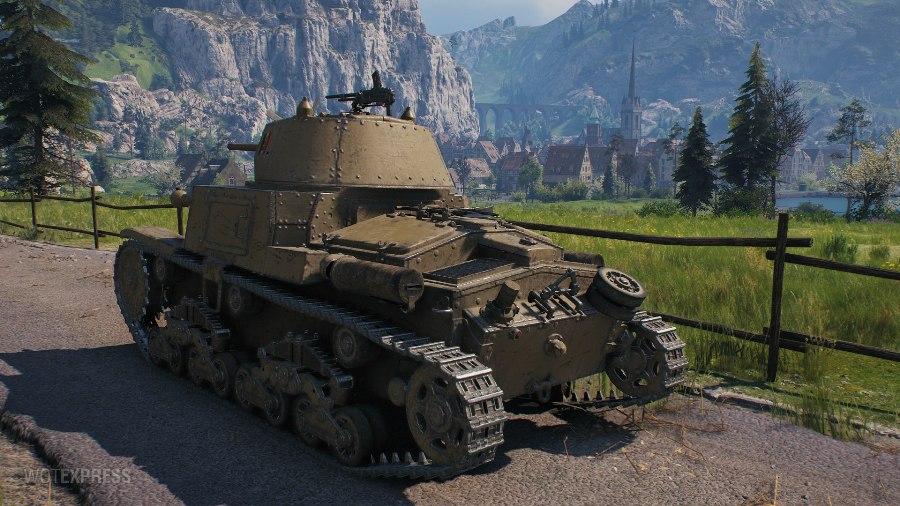 Танк M14/41 в WoT