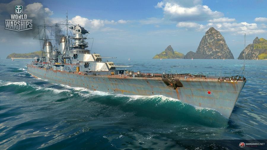Корабль 10 уровня в WoWs