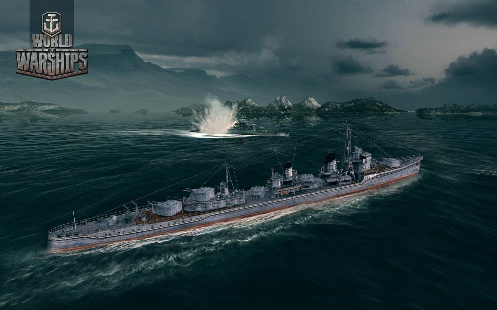 Сражения в World of Warships