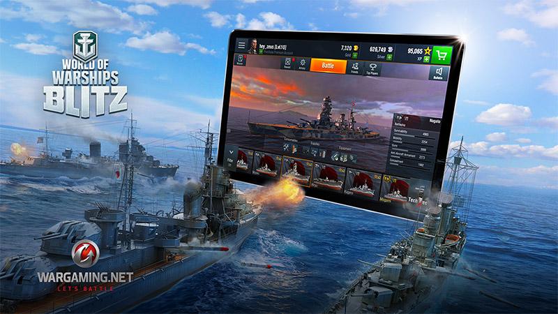 Достоинства игры World of Warships Blitz