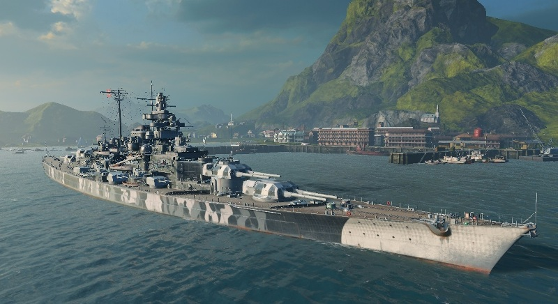 Корабль Германии в WoWs