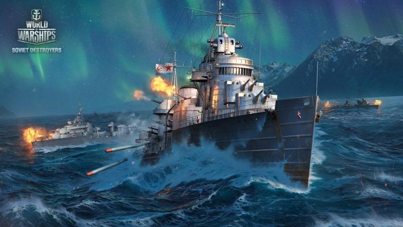 Выбираем ветку для прокачки в Word of Warships
