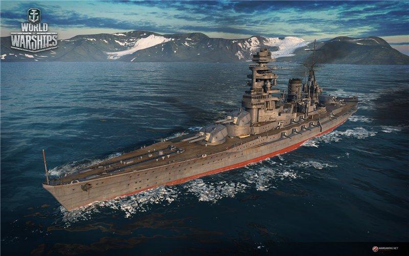 Корабль Японии в игре