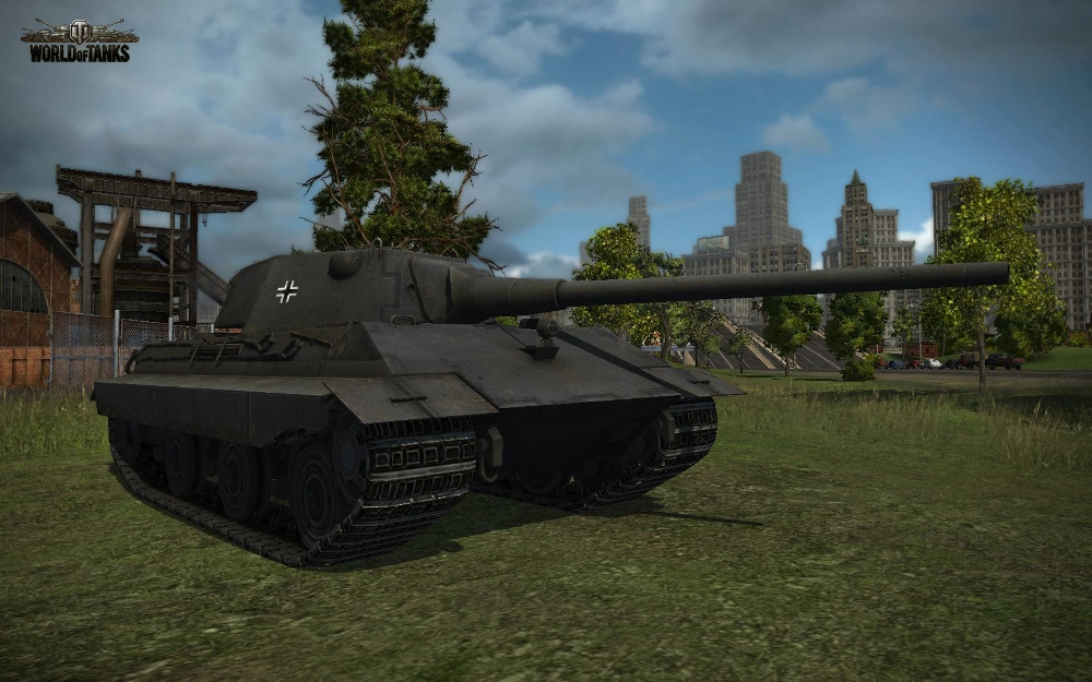 Е50 в World of Tanks