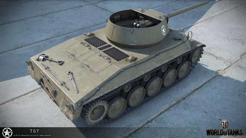 Танк Т67 в игре