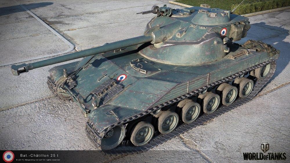 Танк Bat.-Châtillon 25 t