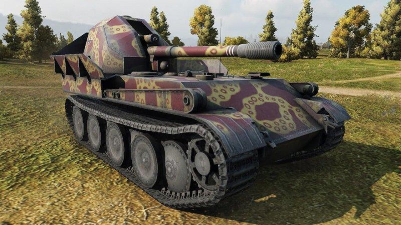 Немецкая артиллерия в WoT